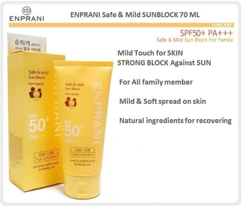 Buy Enprani Daily Moist Sun Block For Family SPF 50 PA+++ Singapore
