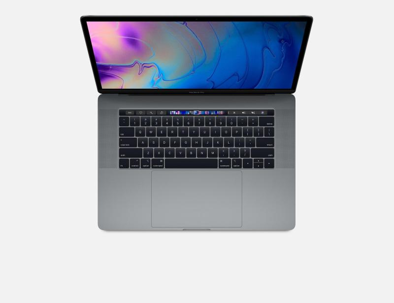 Apple MacBook Pro 15-inch with Touch Bar: 2.6GHz 6-core 8th-generation IntelCorei7 processor, 512GB (2018)