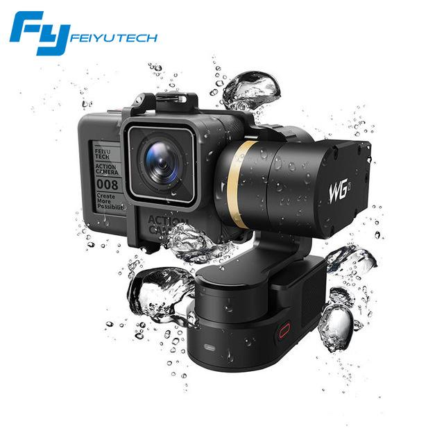 Top Rated Waterproof Wearable 3 Axis Gimbal Feiyu Wg2