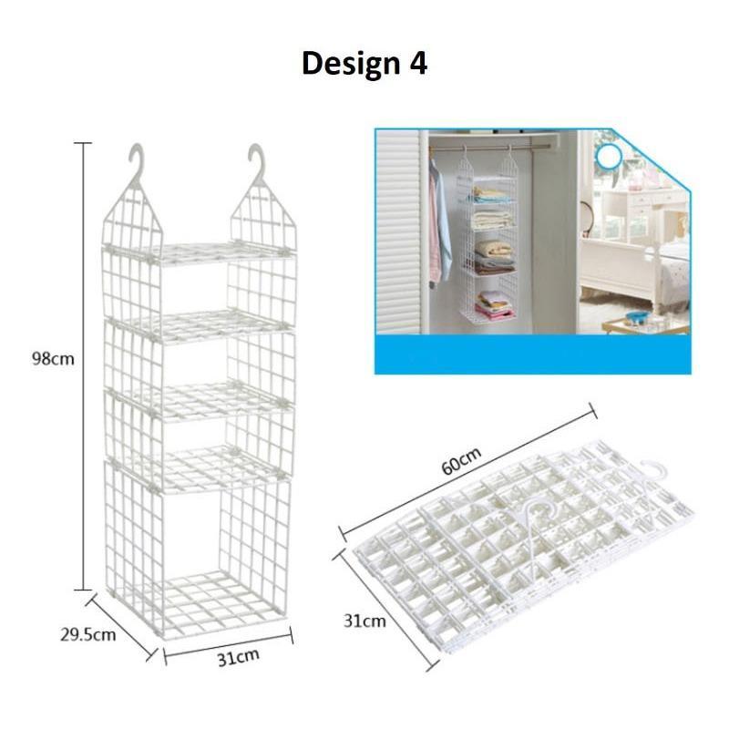 Closet Hanging Shelf Design 4 For Sale Online