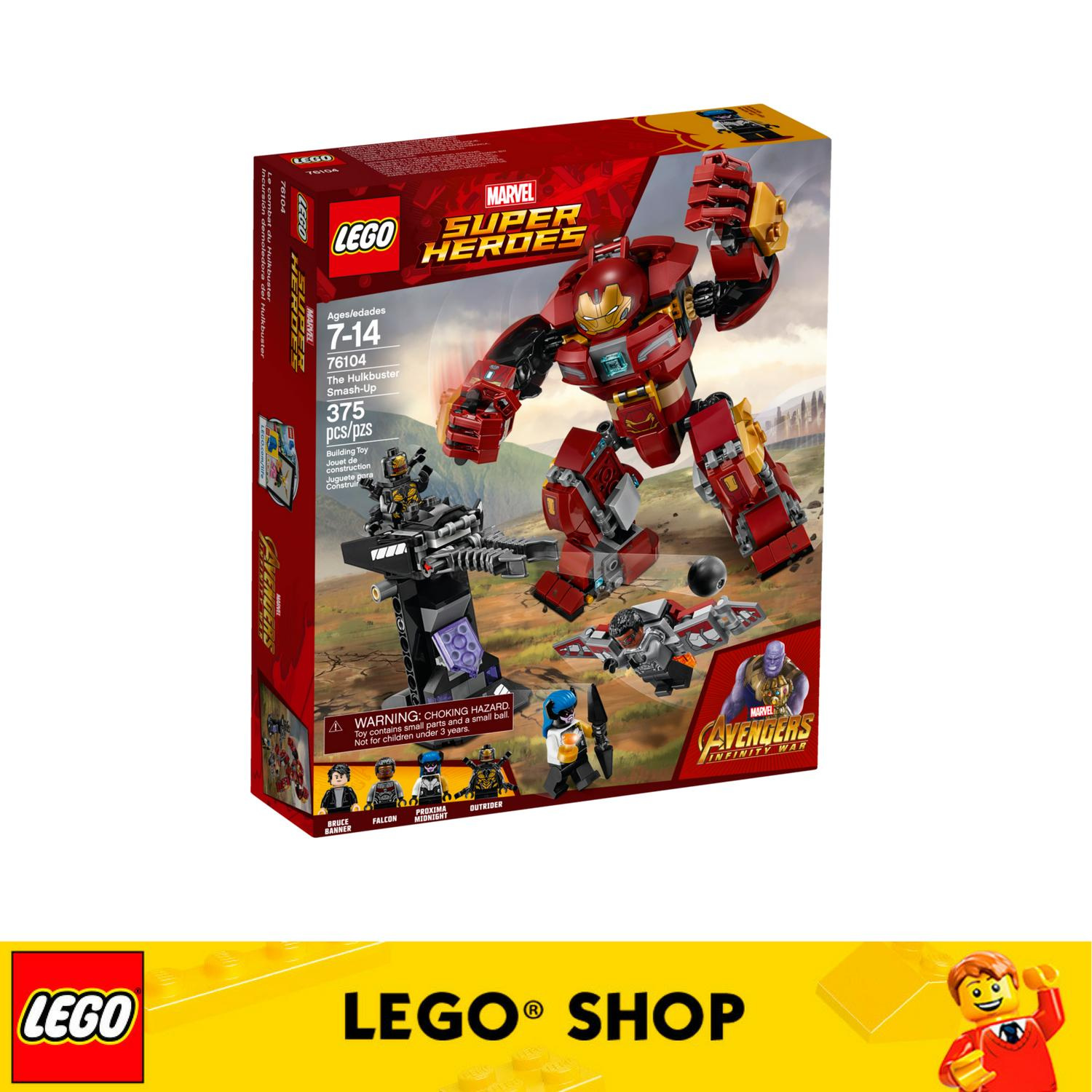Discount Lego® Marvel Super Heroes The Hulkbuster Smash Up 76104 Lego Singapore