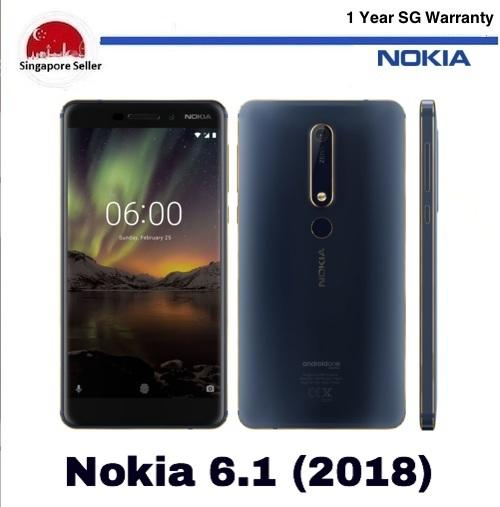 Sale Nokia 6 2018 64Gb 4Gb Lte Dual Sim 1 Year Nokia Singapore Warranty Singapore Cheap