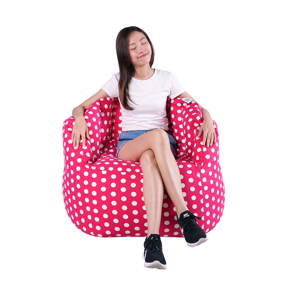 Chilla Fabric Bean Bag Chair (Regular EPS beans filling)
