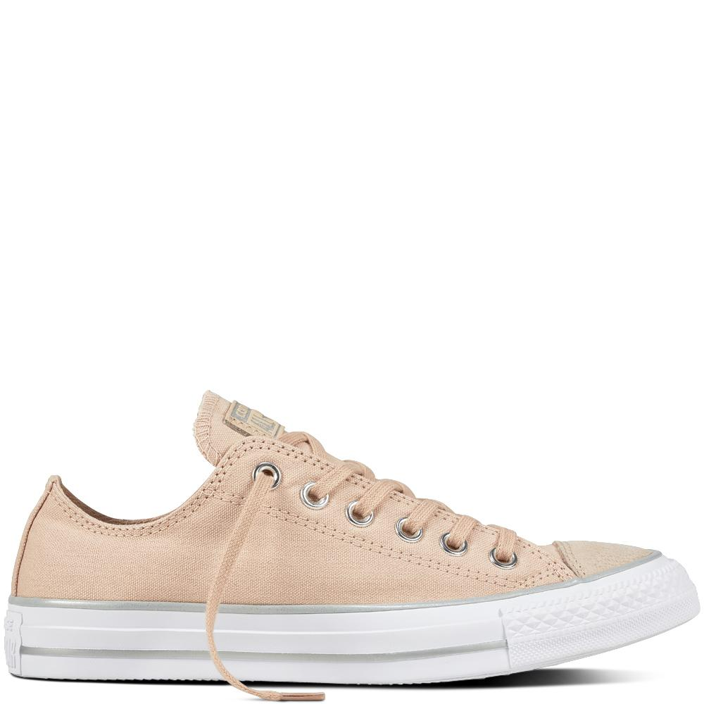Best Converse Chuck Taylor All Star Ox Particle Beige Silver White 559889C