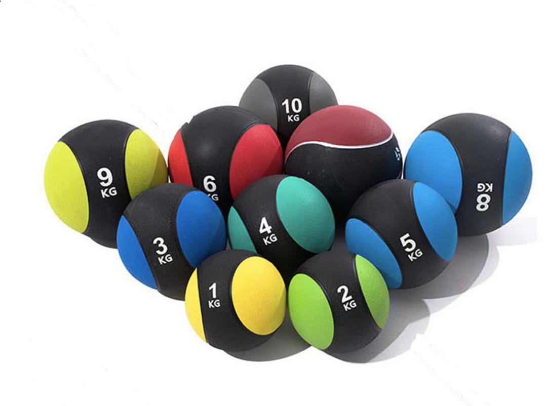 Medicine Ball (1kg/2kg/3kg/4kg/5kg/6kg/7kg/8kg/9kg/10kg) By Jiji.