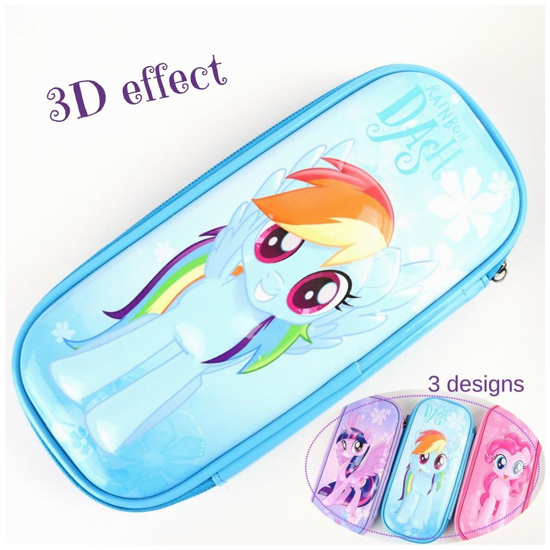 Price My Little Pony 3D Pencil Case Large Capacity For Primary Students Oem New