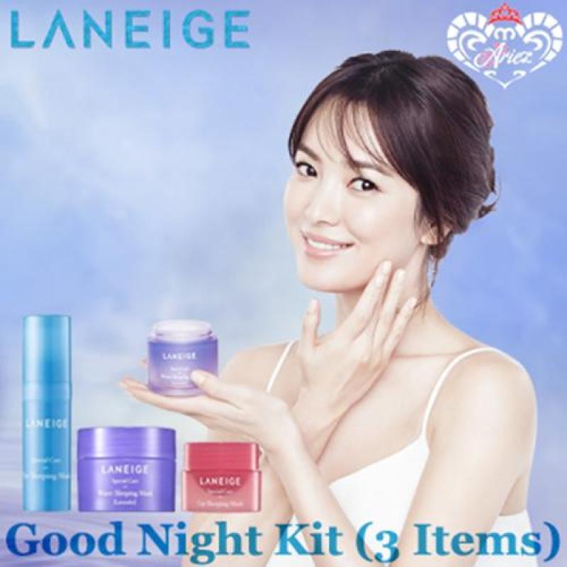 Buy *Ariez* Laneige Sleeping Care Good Night Kit (3 Items) Korea Skincare Travel Sample Singapore