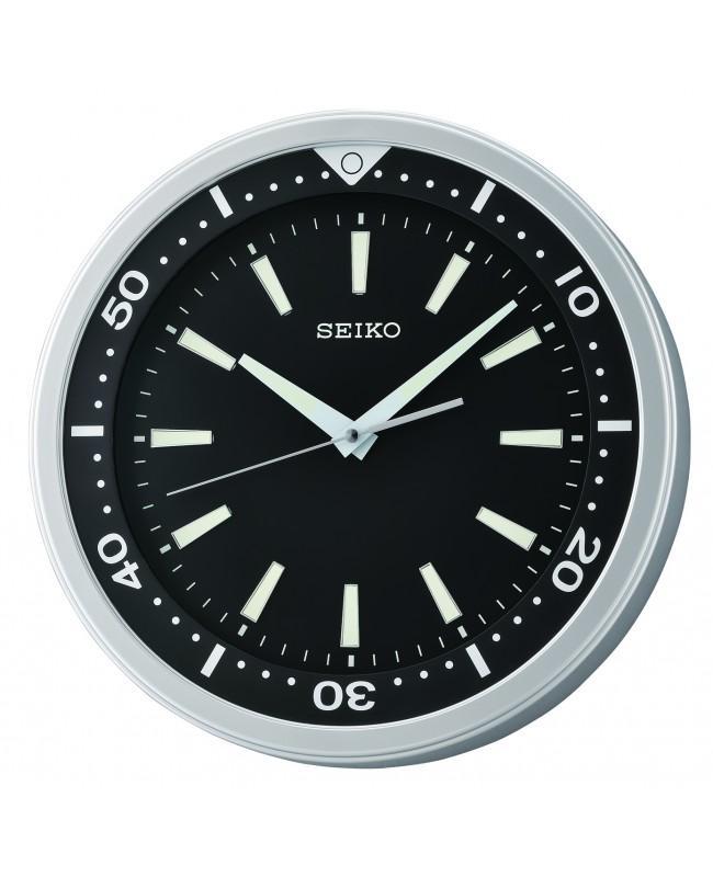 NEW Seiko QXA723A QXA723AN Quiet Sweep Second Hand LumiBrite Wall Clock