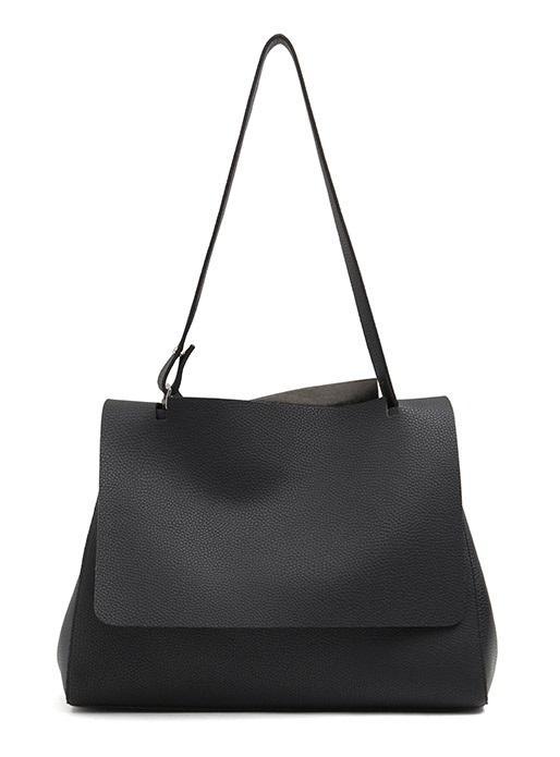 Best Price Premium Quality Synthetic Soft Leather Monica Light Grey Shoulderbag Handbag Totebag Workingbag Ladies Bag