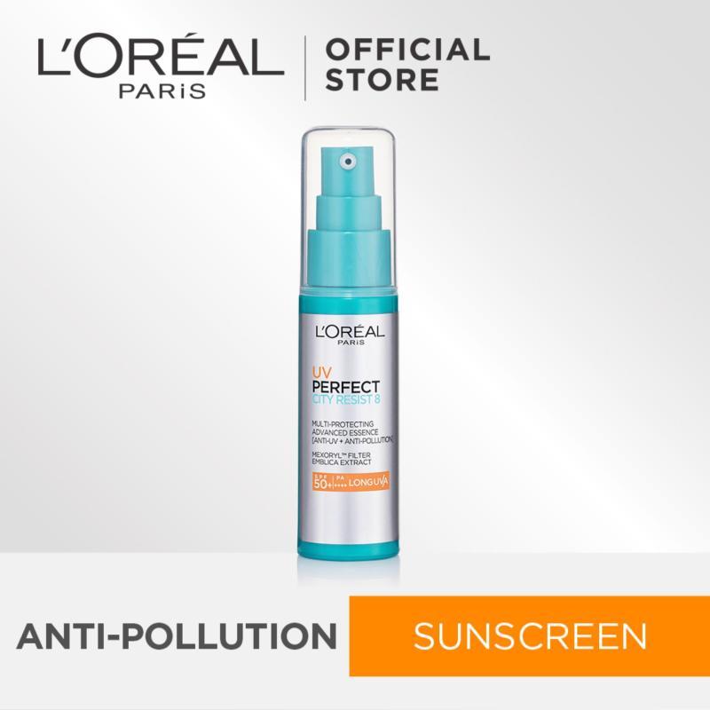 Buy LOréal Paris UV Perfect City Resist Anti-Pollution Sunscreen SPF50|PA++++ 30ml Singapore