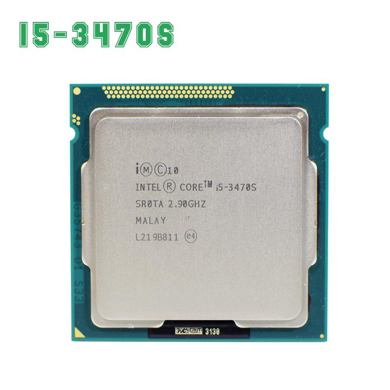 Intel Core I5 3470 S 2.9 GHz 5GT/S 4x256KB L2/6 MB L3 Socket 1155 Quad- core CPU-Intl