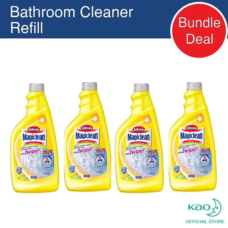 Sale Magiclean Bathroom Refill Lemon 500Ml Set Of 4 Online Singapore