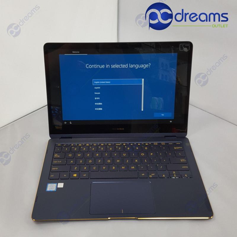 TECH SHOW PROMO! ASUS ZENBOOK FLIP UX370UA-C4194T i5-8250U/8GB/512GB SSD [Factory Refreshed]