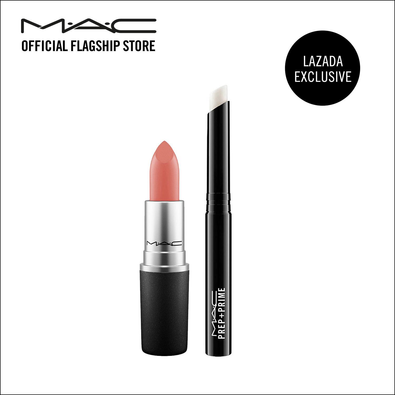 Buy Mac Matte Lipstick Velvet Teddy Mac Prep Prime Lip Exclusive Online Singapore