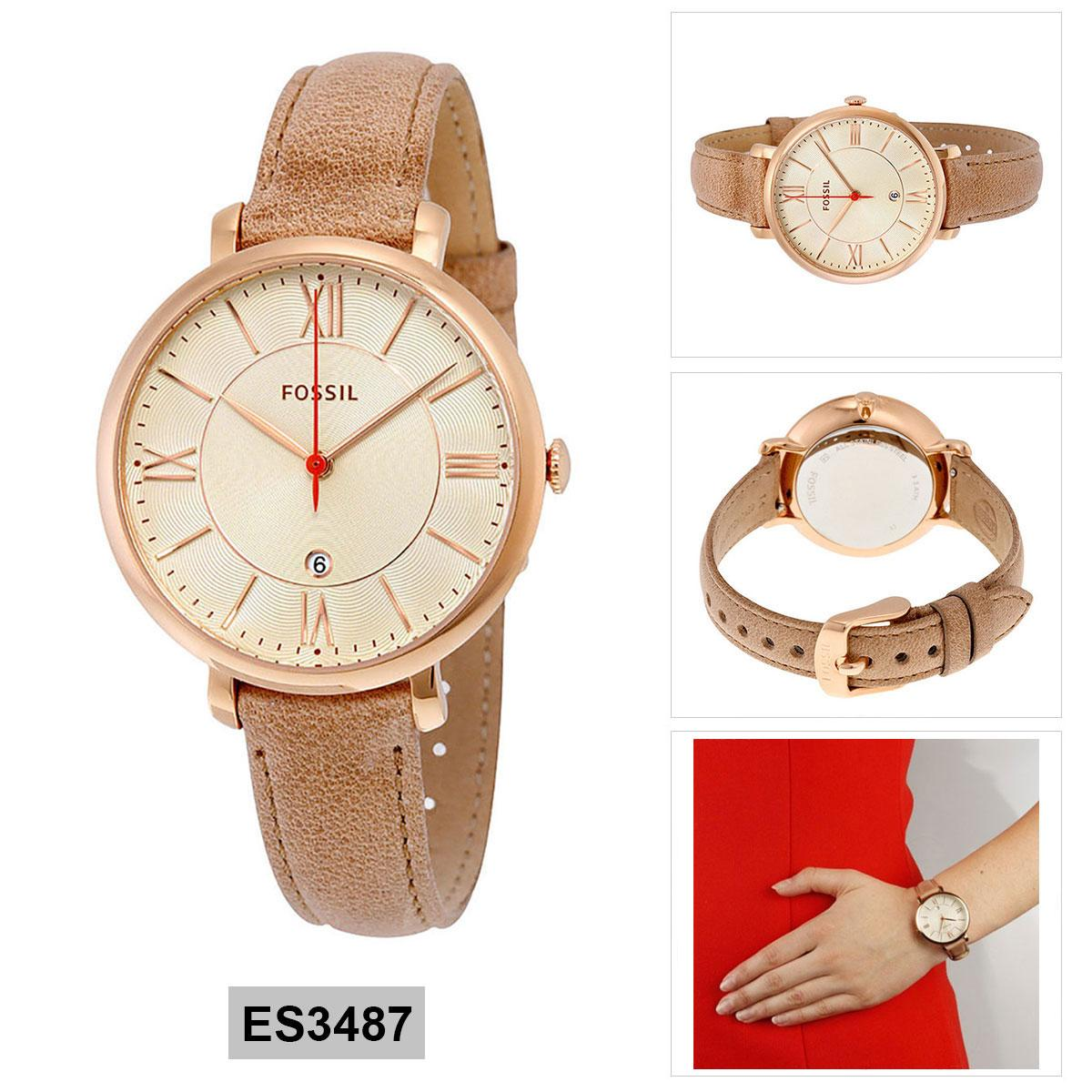 Fossil Watch Jacqueline Brown Stainless Steel Case Jam Tangan Wanita Ch3016 Abilene Chronograph Light Warranty Only Covers Parts And Labor Where The Problem Arises From Manufacturing Defect Not Under