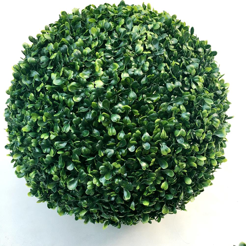 Simulate Plastic Leave Ball Artificial Grass Ball Home Party Wedding Decoration  Style:10 cm grass ball
