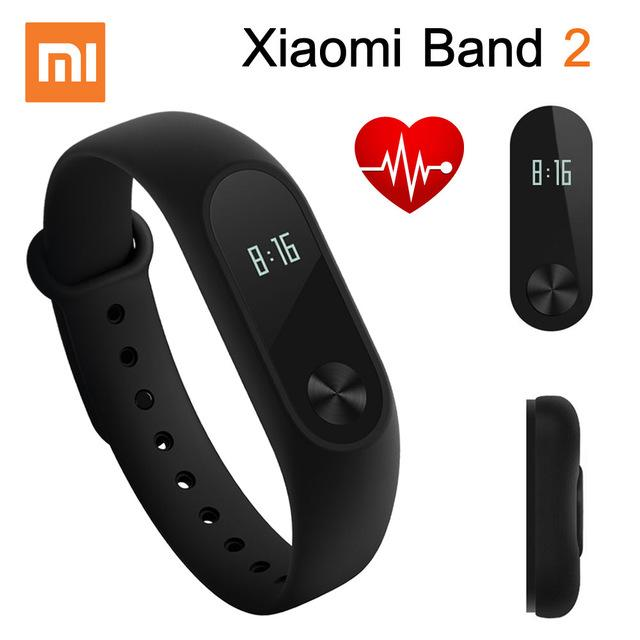 Original Band Xiaomi Mi 2 Smart Bracelet Bracelet Bracelet Smartband Heart Rate Monitor Fitness Tracker Compare Prices