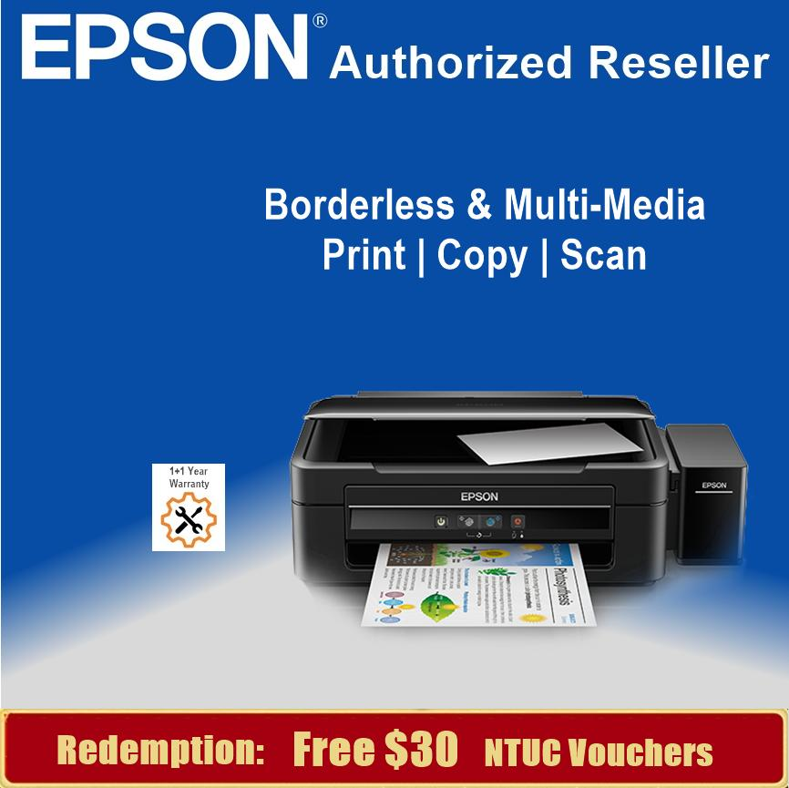 [Singapore Warranty] Epson L380 Home All-in-One Ink Tank Printer Epson 380  L 380 Singapore