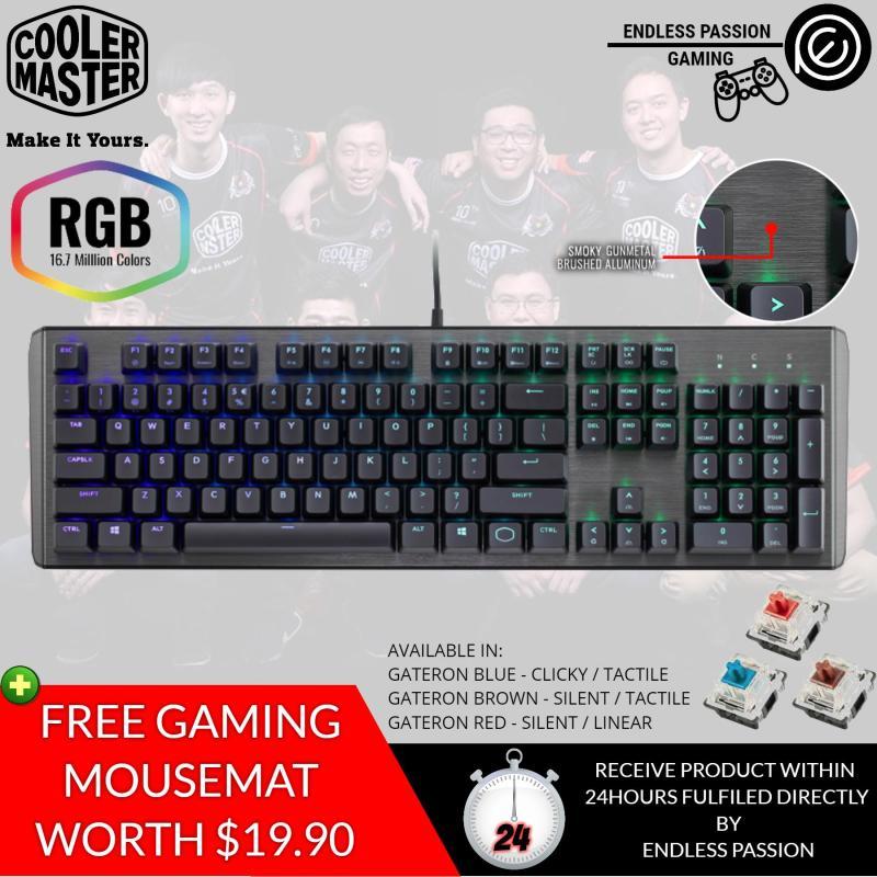 Cooler Master CK550 RGB Mechanical Gaming Keyboard - Gateron Switches Singapore