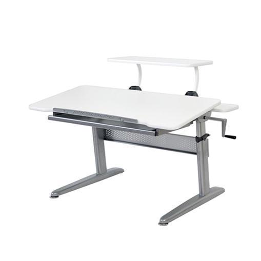 ErgoSmart ErgoJunior Plus Desk + Free Adjustable Shelf + Scout Kids Sports Bag (Assorted Designs)