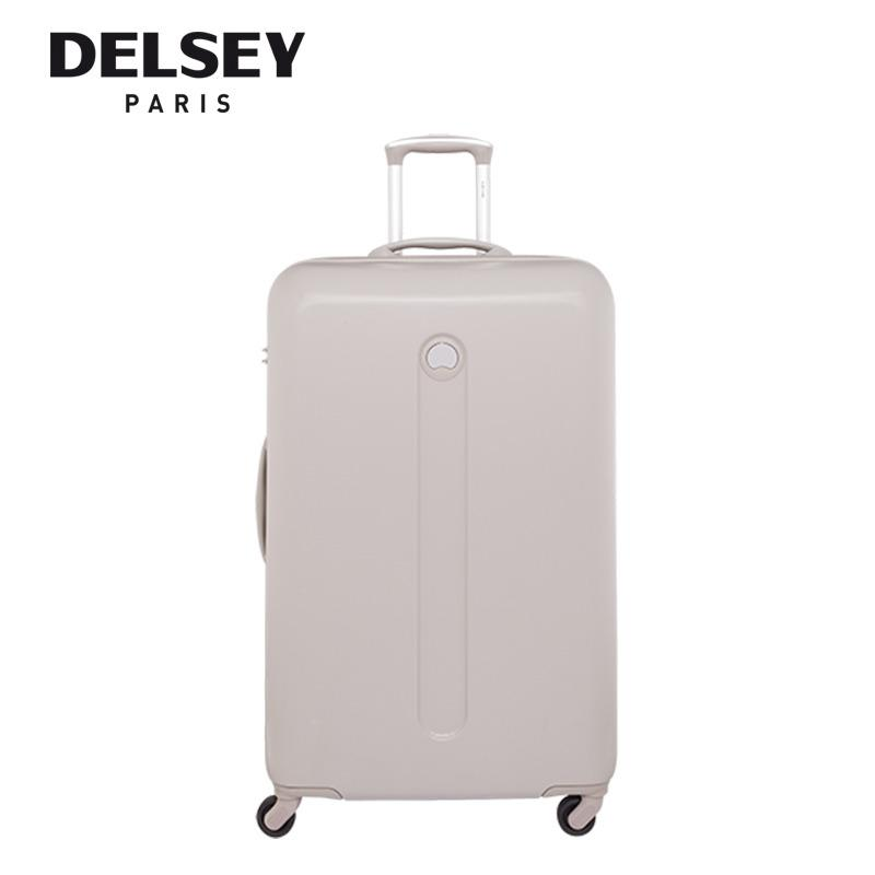 Who Sells Helium Classic 78Cm 4 Wheel Trolley Hard Case Red Beige The Cheapest