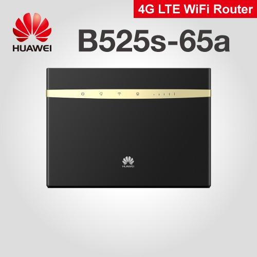 Best Offer Huawei B525 4G Lte Sim Card Ac 1600 Router Dual Band Mobile Wifi Router Black Mifi