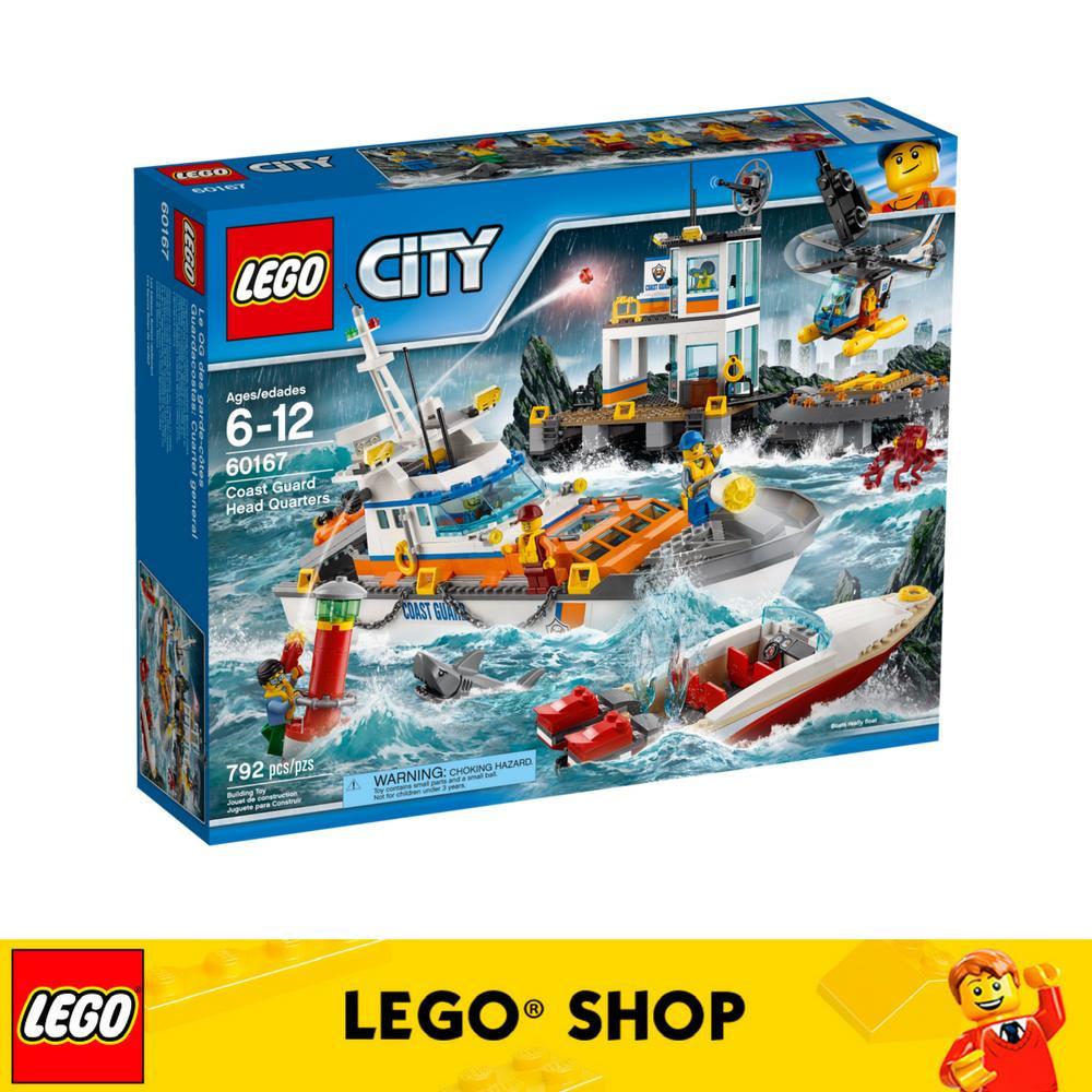 Where Can You Buy Lego® City Coast Guard Coast Guard Head Quarters 60167