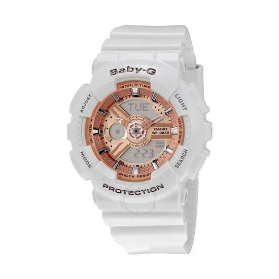 Casio Baby G Ba 110 7A1 White Export Coupon