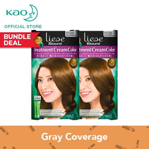 Price Liese Blaune Treatment Cream Color Ultra Light Brown Set Of 2 On Singapore
