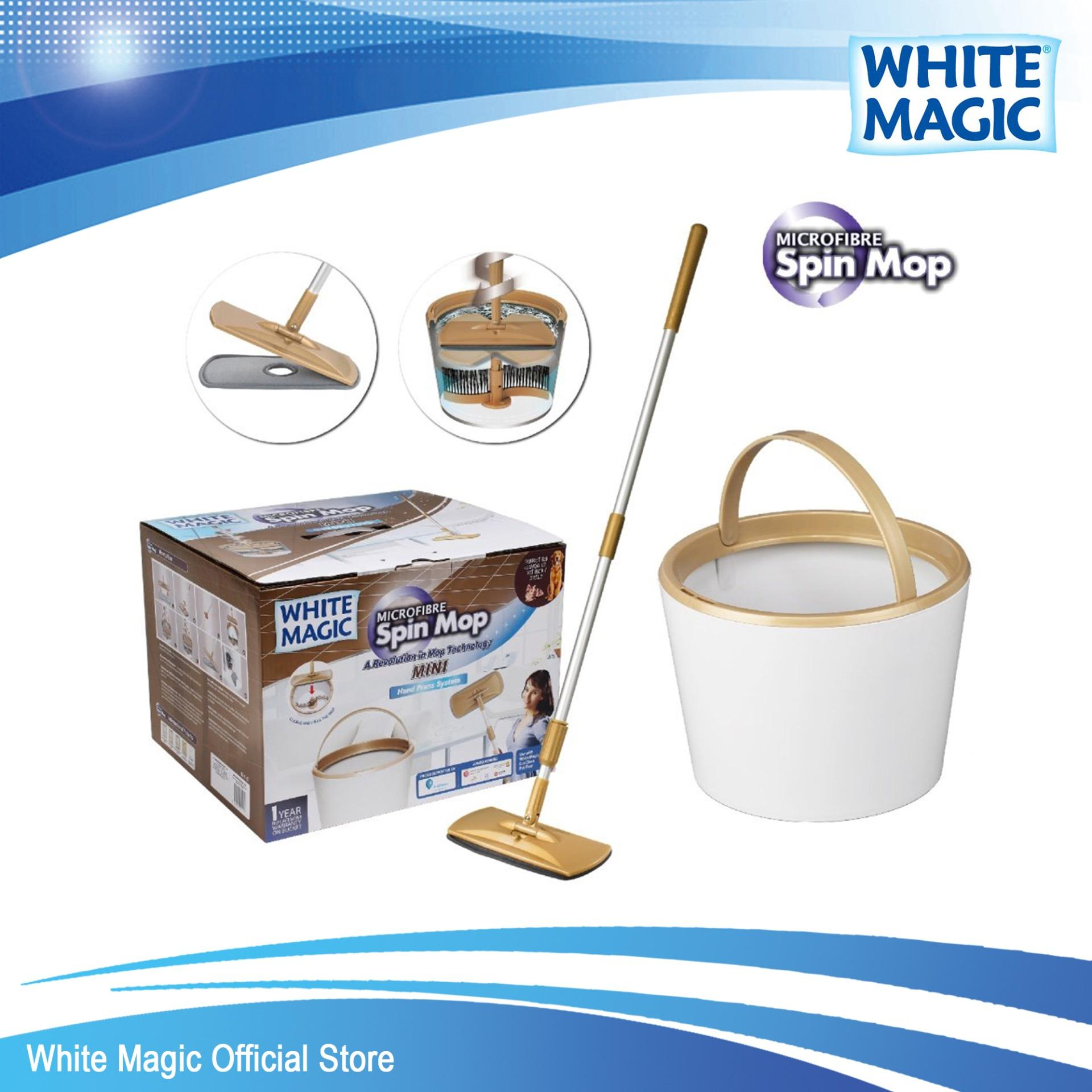 Discount White Magic Mini Spin Mop Set Singapore