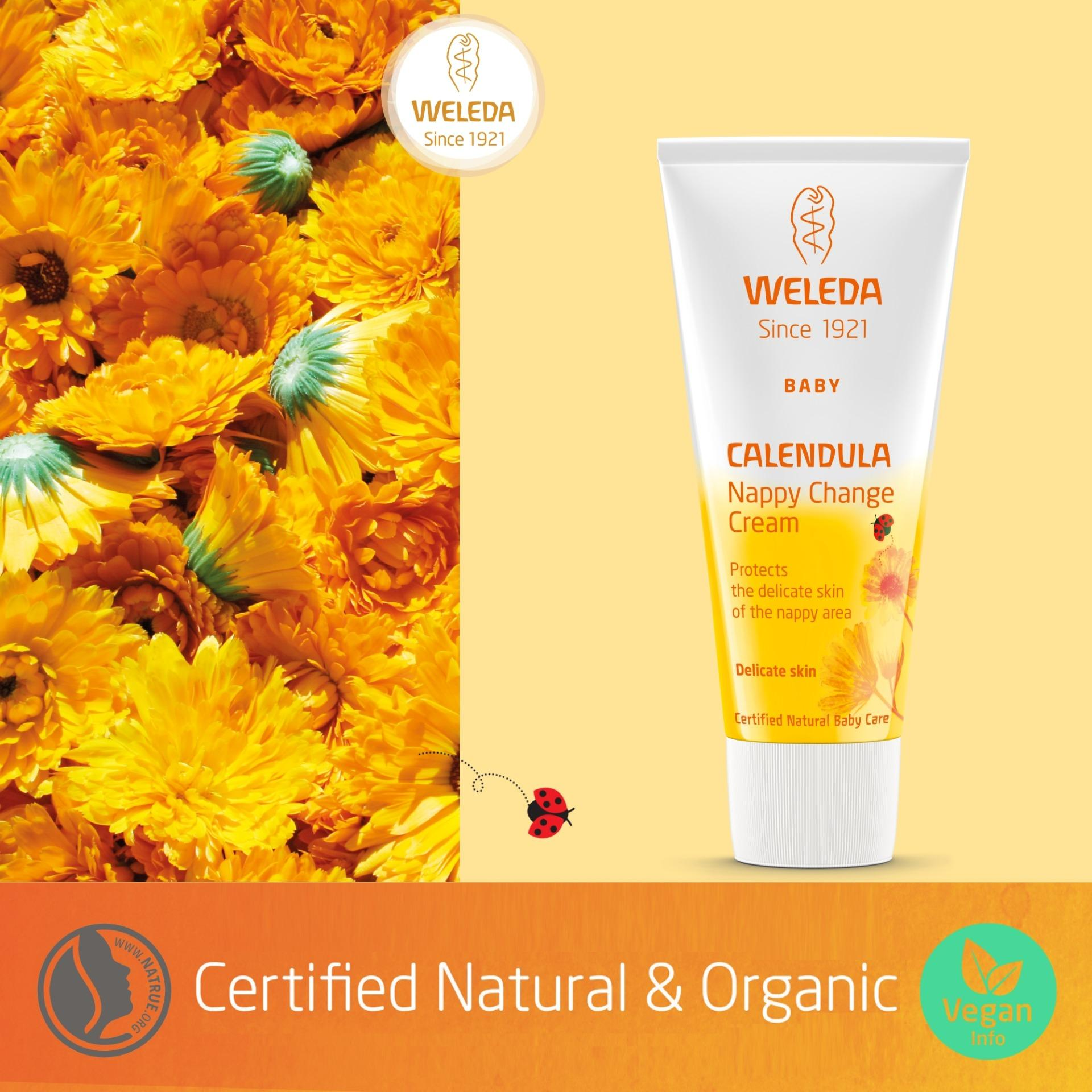 Expiry Jun 2019 2 X Weleda Calendula Nappy Change Cream 75Ml Online