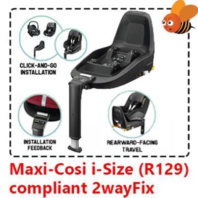 Maxi-Cosi i-Size (R129) compliant 2way Fix base fo