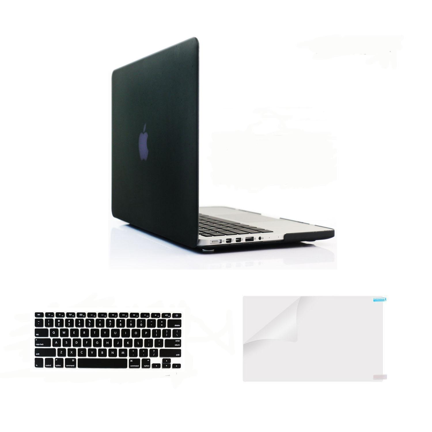 Welink Plastic Hard Case with Keyboard Cover with Screen Protector Only for MacBook Pro 13 Inch with Retina Display No CD-Rom (Models:A1502/A1425, Version 2015/2014/2013/end 2012)