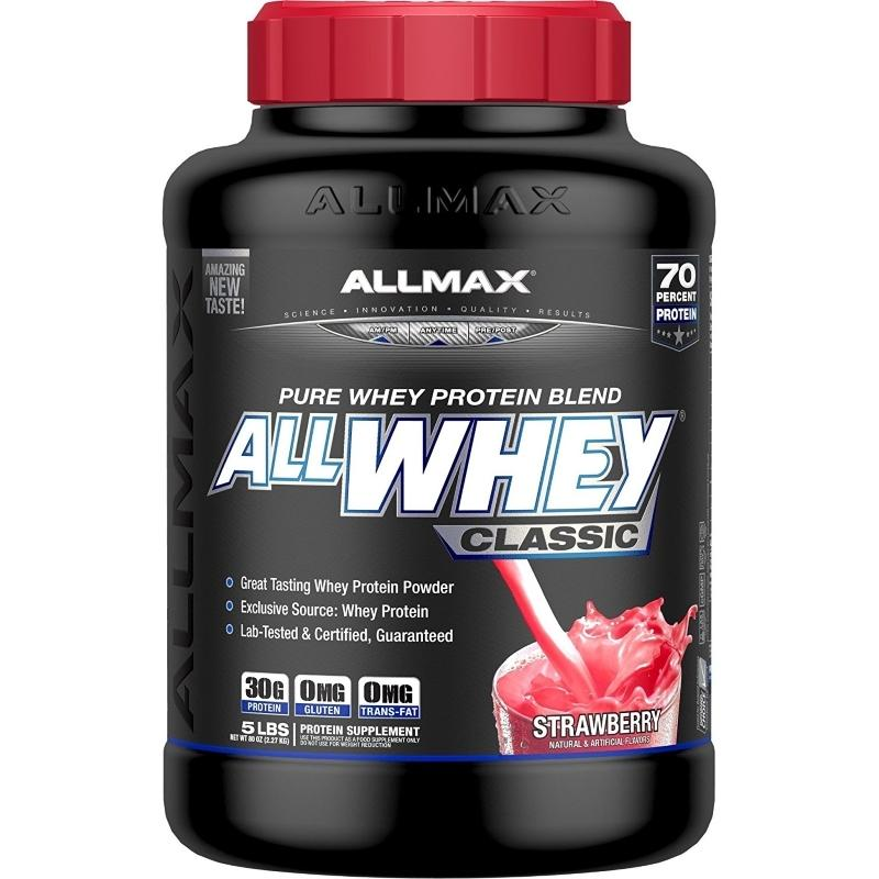 AllMax Whey Classic 5lb Strawberry