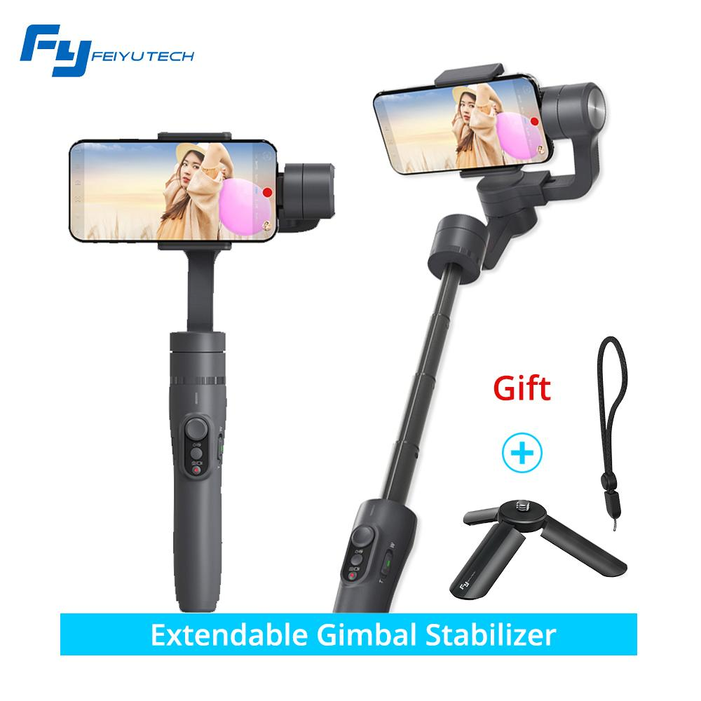 Price Comparison For Feiyu Vimble 2 Smartphone 3 Axis Handheld Gimbal With Free Mini Tripod And Strap