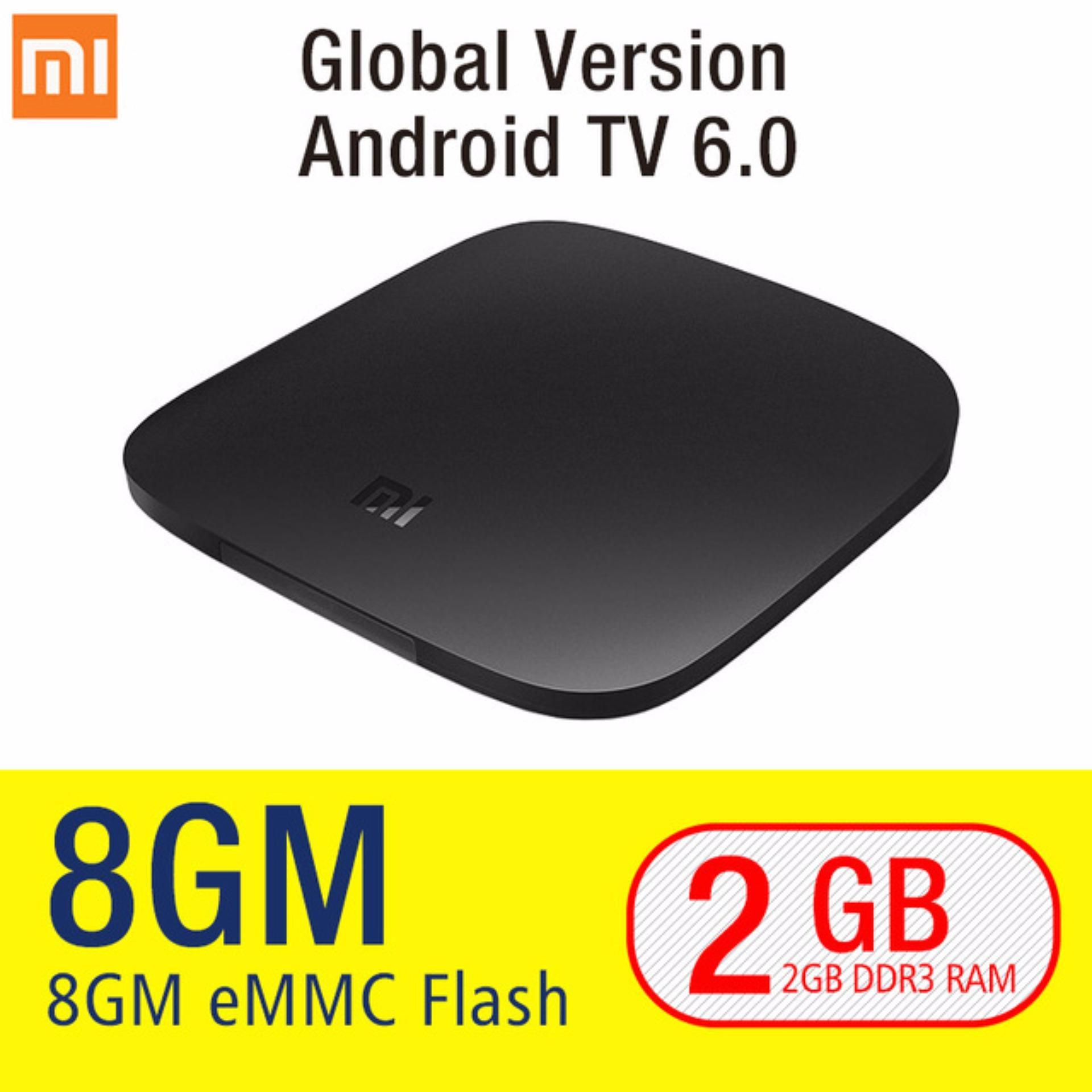 Sale Global Version Xiaomi Mi Tv Box 3 Wifi Bluetooth 64Bit 2Gb Ddr3 Android 6 Smart 4K Hd Tvbox Uk Plug On China