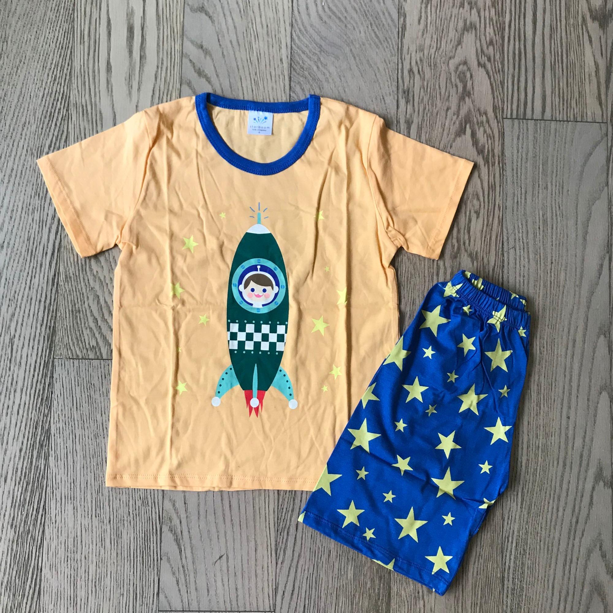 Sale Children Boy G*Rl Short Sleeve Starboom Rocket Set Starboom On Singapore
