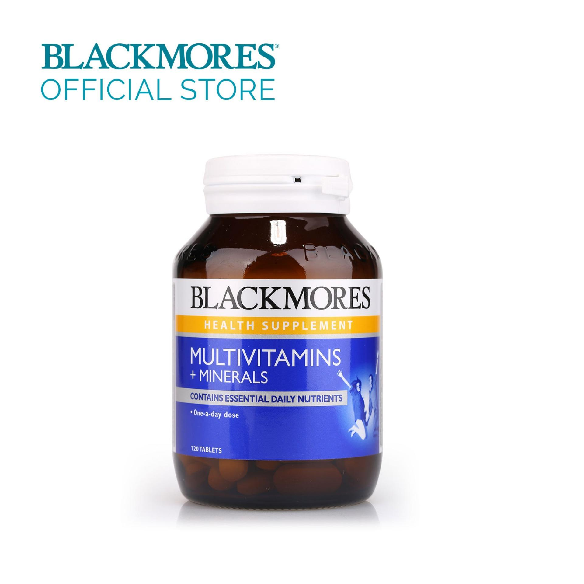 Brand New Blackmores Multivitamins Minerals 120Tabs