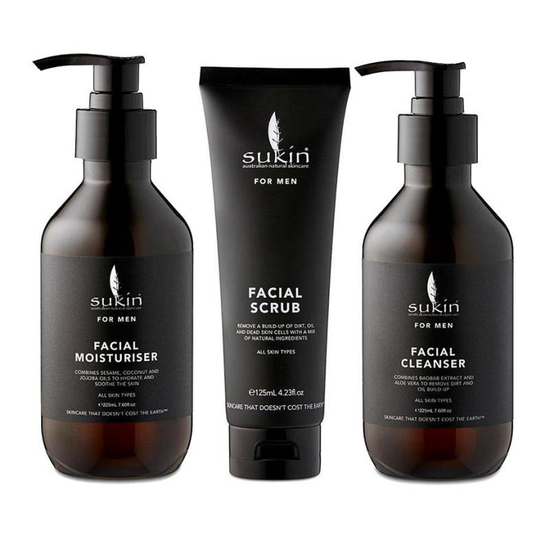 Buy Sukin for Men Ultimate 3 Piece Face Cleanser Pack Singapore
