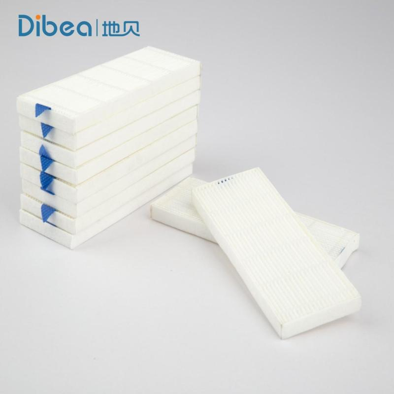 10pcs Hepa Filters for Dibea D960 Cleaner Replace Accessories Cleaning Smart Robotic Vacuum Cleaner Spare Singapore