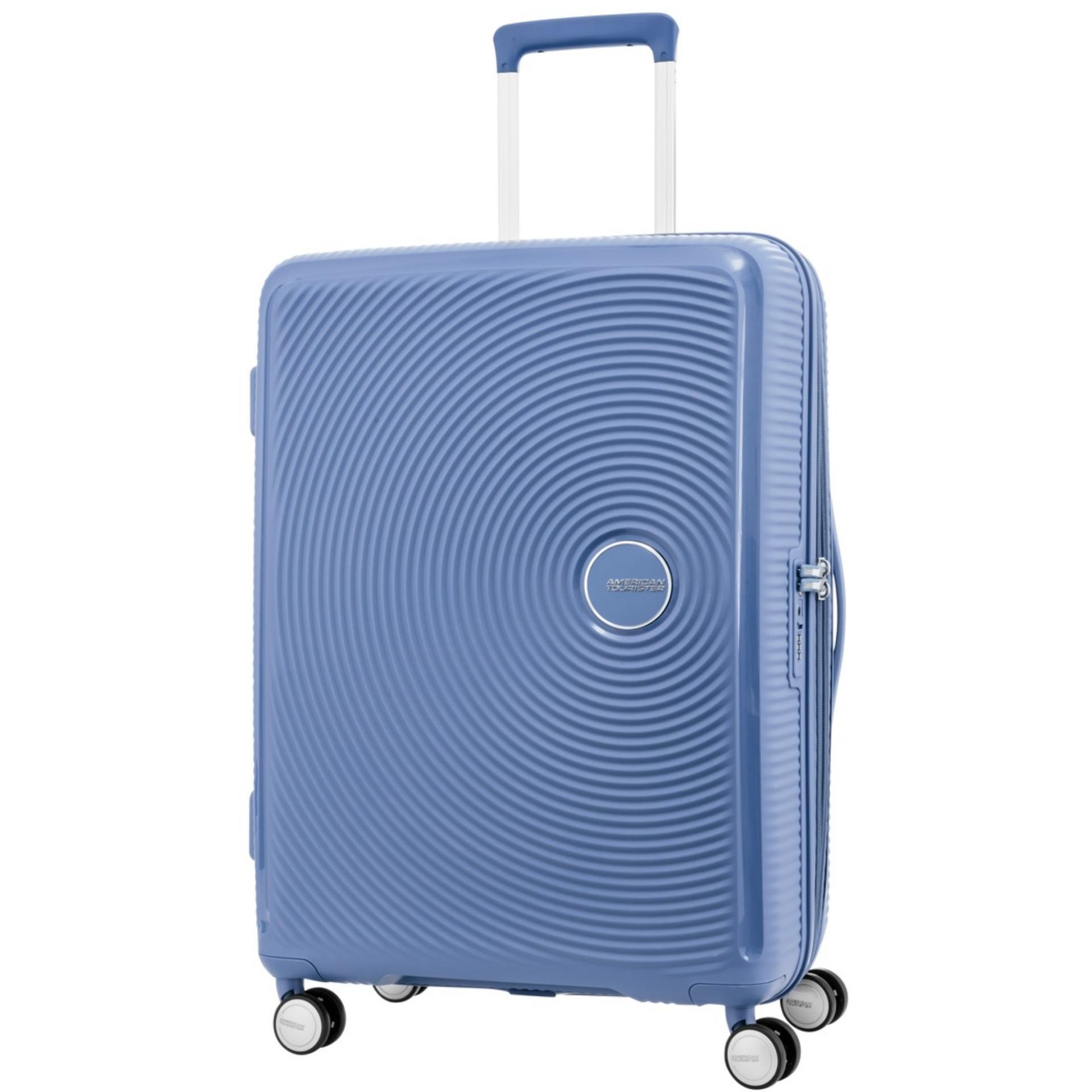 Compare Prices For American Tourister Curio Spinner 69 25 Exp Tsa Denim Blue