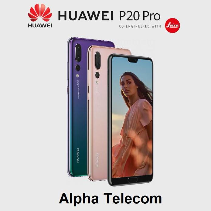 New Huawei P20 Pro 6Gb 128Gb Singapore Warranty