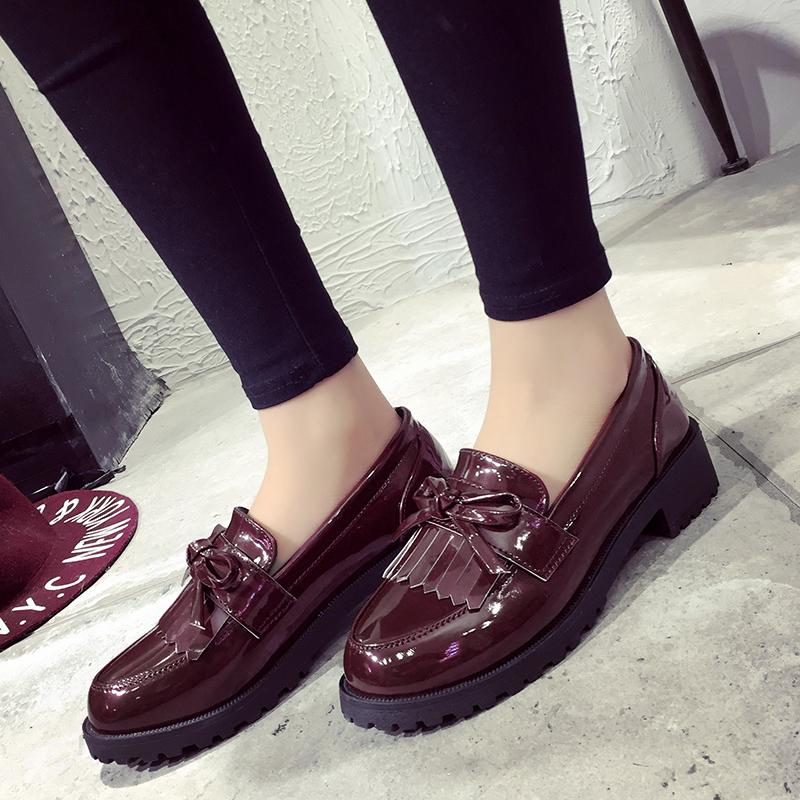 Loafers Korean-style autumn New style women's shoes