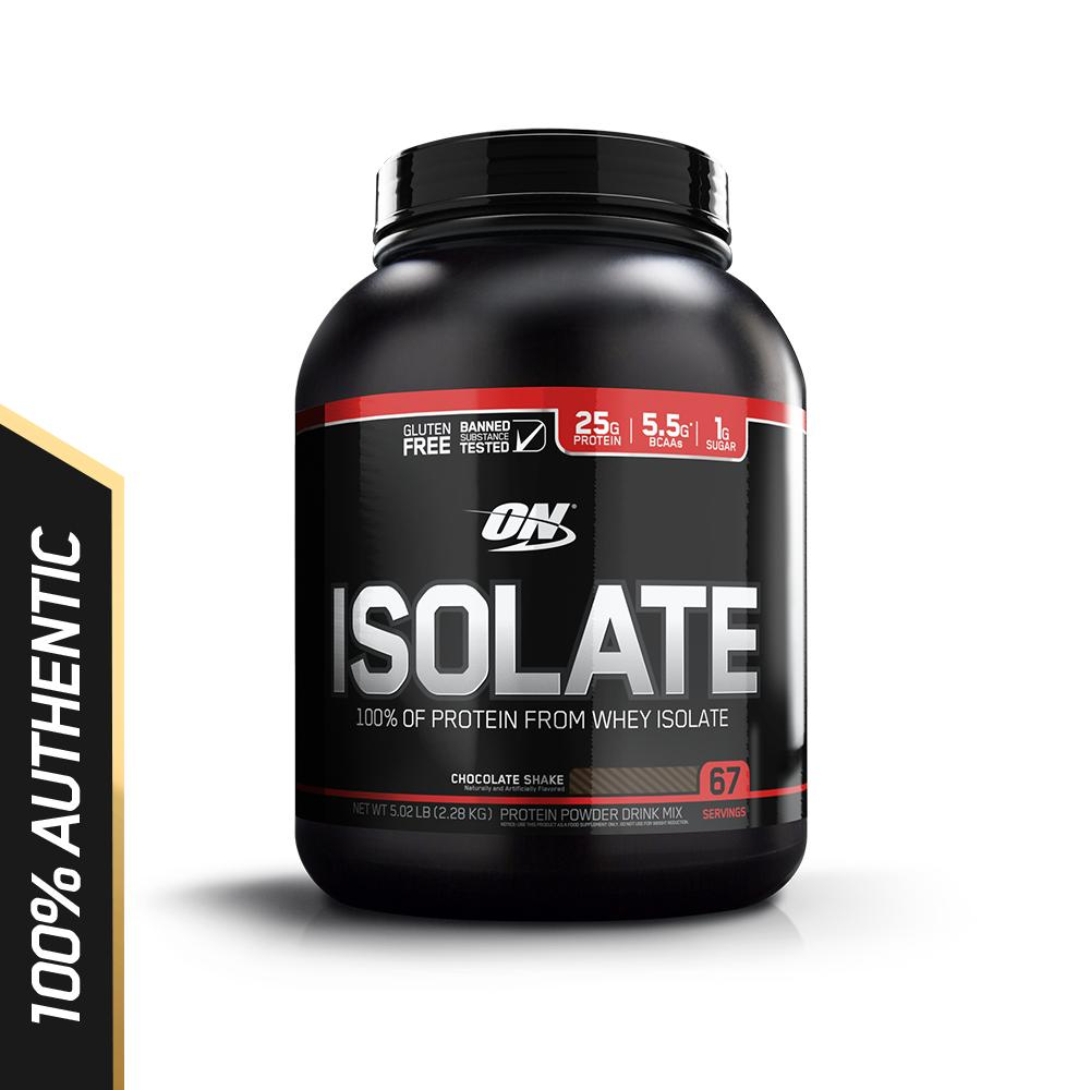 Discount Optimum Nutrition Isolate 5 Lbs Chocolate Shake