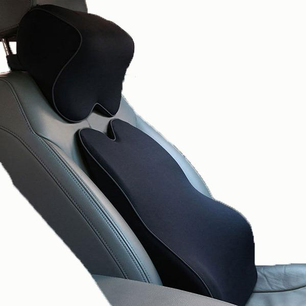 Car Neck And Back Ergonomic Memory Foam Cushion