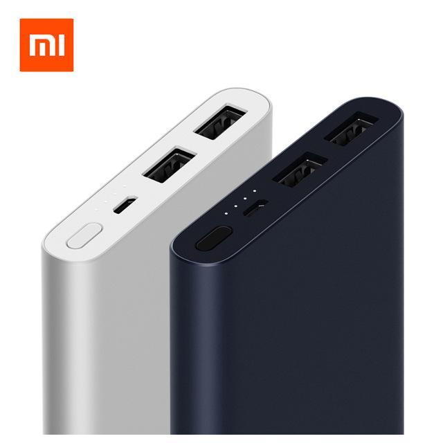 Xiaomi Powerbank 10000Mah 2018 Two Ports Export Free Shipping