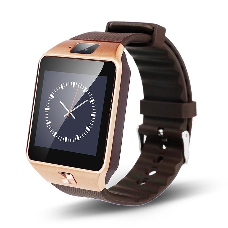 Bluetooth Smartwatch DZ09 Android Ponsel Relogio Dukungan Kartu SIM TF Kamera Jam Tangan Pintar untuk iPhone Samsung Huawei PK GT08