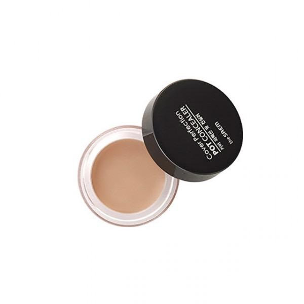 The Saem Cover Perfection Pot Concealer Shade 1 Clear Beige Missdewy Lowest Price