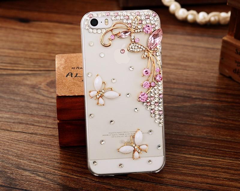 Untuk Xiaomi Redmi Note 5A Case Buatan Tangan Berlian Imitasi Case Berlian Kristal Merak Sarung Bunga Leopard Telepon Case-Internasional