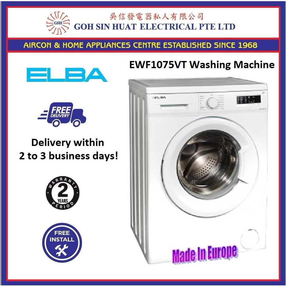 Elba Ewf 1075 Vt 7Kg Front Load Washing Machine For Sale